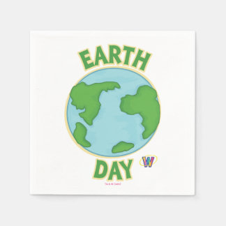 Webkinz Earth Day Paper Napkin