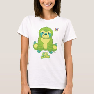 Webkinz Go Green Pattern T-Shirt