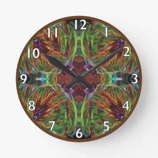 Webs and Weaves Round Clock
