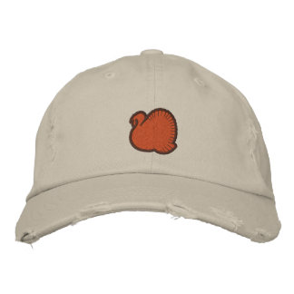 WEBSTER TURKEY DAY HAT EMBROIDERED HATS