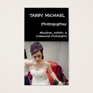 wed7, TABBY MICHAEL, Photographer, Weddings, Ar... Business Card