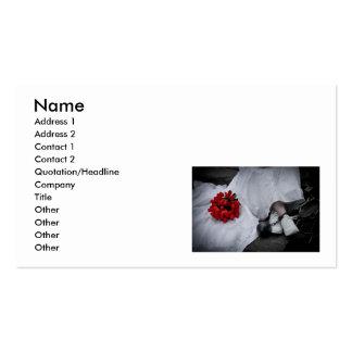 WedBallChainR091810SepiaHor, Name, Address 1, A... Pack Of Standard Business Cards