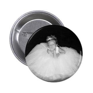 wedding 6 cm round badge