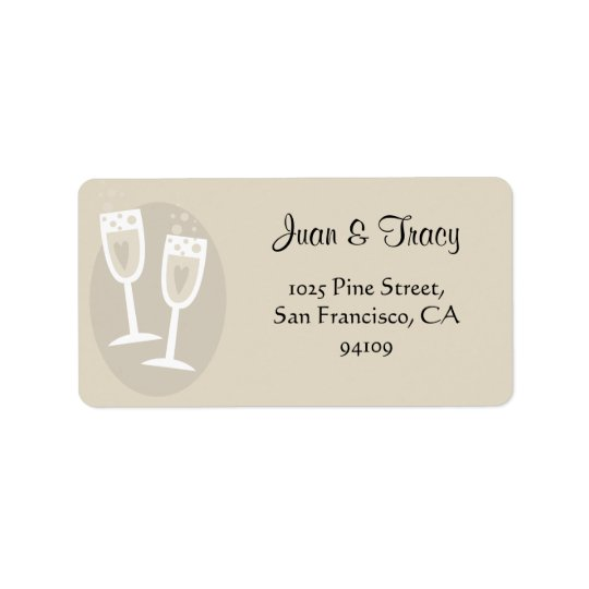 Wedding Address Labels