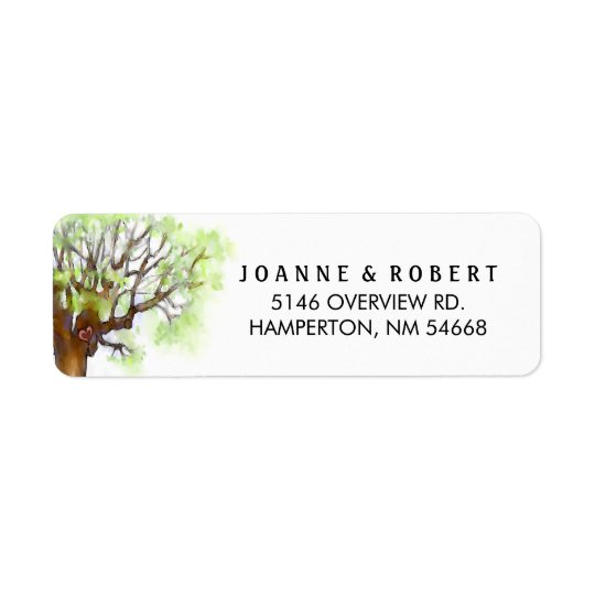 Wedding Address Labels - The Love Tree