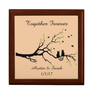 Wedding and Anniversary Wooden Keepsake Box