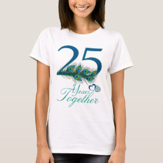wedding anniversary / 25 / 25th / number 25 T-Shirt