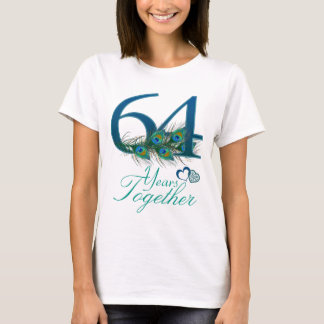 wedding anniversary / 64 / 64th / number 64 T-Shirt