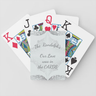 Wedding-Anniversary-Gift's_White_Template_Name Bicycle Playing Cards