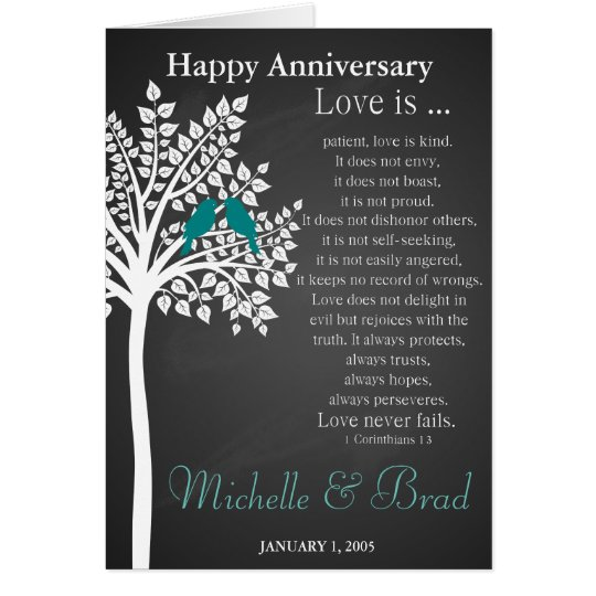 Greeting For Wedding Gift : Wedding anniversary Love is....card wedding gift Greeting Card ...
