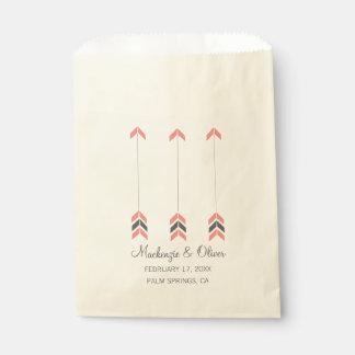 Wedding Arrows Favour Bag