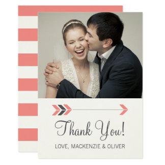 Wedding Arrows - Thank You Card