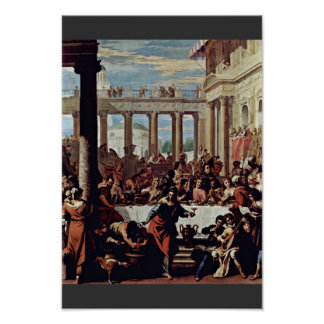Wedding At Cana By Ricci Sebastiano Poster