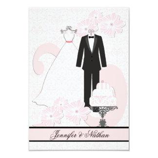 Wedding Attire RSVP Card