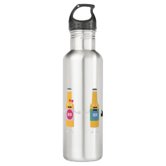 Wedding Beerbottle couple Zn4bx 710 Ml Water Bottle