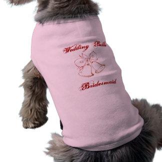 Wedding Belle Bridesmaid Doggie T-shirt