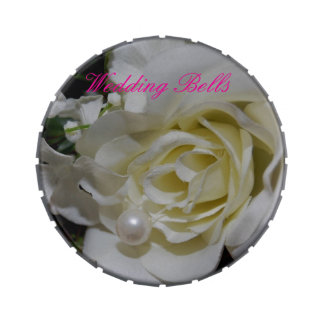 Wedding Bells Candy Tin