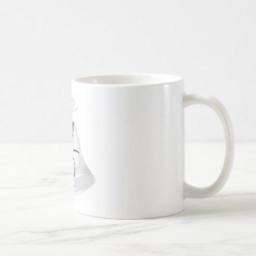 Wedding Bells Monogrammed Mug
