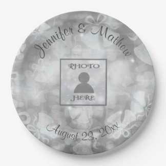 Wedding Bells Reception Paper Plate