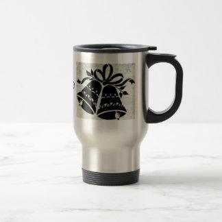 Wedding bells stainless steel travel mug