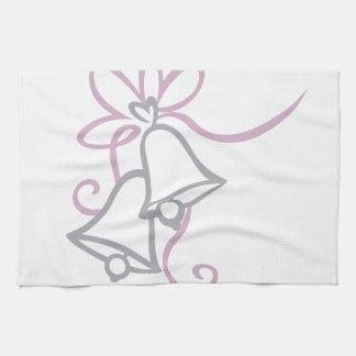 Wedding Bells Tea Towel