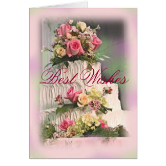 Wedding Best Wishes-customize Card