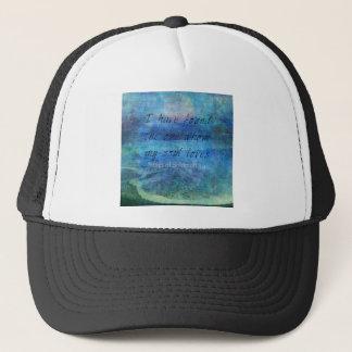 Wedding Bible Verse Art Scripture ocean sea Trucker Hat