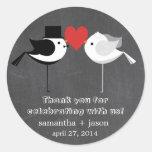 Wedding Birds Stickers