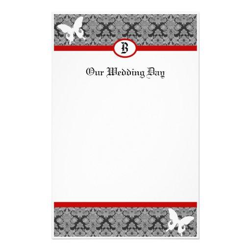 Wedding Bliss Monogrammed Stationery