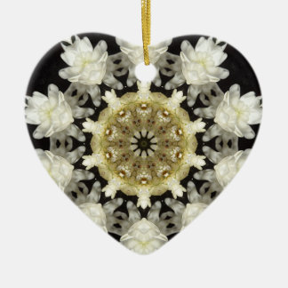 Wedding Bloom Kaleidoscope Christmas Ornament