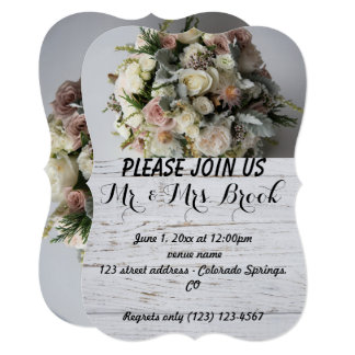 Wedding Bouquet Blossom Romantic Destiny's Destiny Card