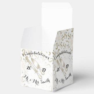 WEDDING BOX  Classic 2x2 Party Favour Box