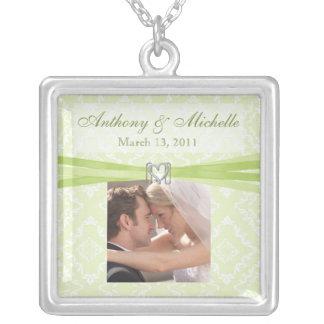 Wedding/Bridal Keepsake Necklace With Photo