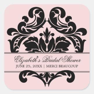 Wedding Bridal Shower Favor Sticker | French Theme