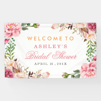 Wedding Bridal Shower Romantic Chic Floral Wrapped