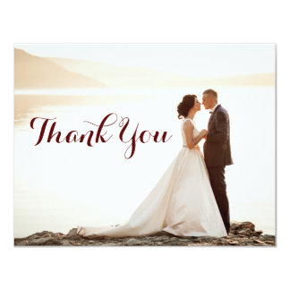 Wedding Bridal Shower Thank You Notes Card