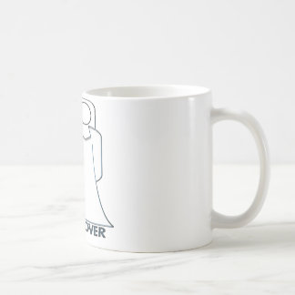 Wedding Bride and Groom Game Over Basic White Mug