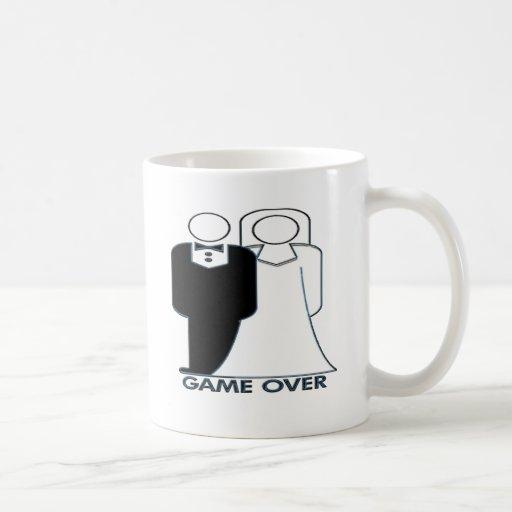 Wedding Bride and Groom Game Over Mug