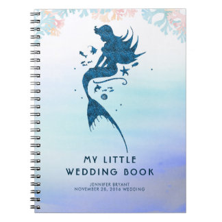 Wedding Bride Mermaid Under the Sea Notebook