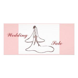 Wedding Bride Rack Card