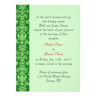 wedding bride s parents invitation custom announcements
