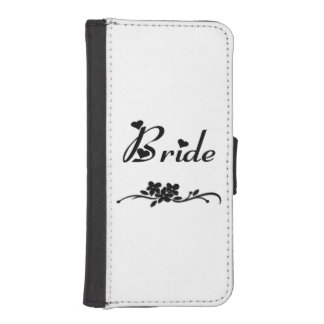 Wedding Brides iPhone 5 Wallet Cases