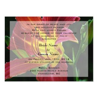 wedding, bride's parents invitation
