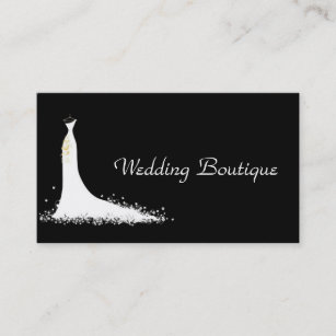 Wedding dresses business cards zazzle au wedding business business card colourmoves