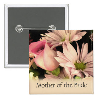 Wedding button for Mother of the Bride