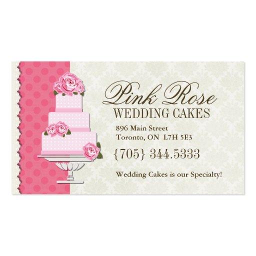 Wedding Cake Artist Business Cards
