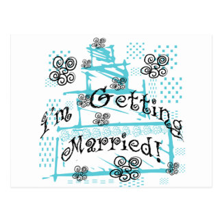 Wedding Cake Bride Tshirts and Gifts Postcards