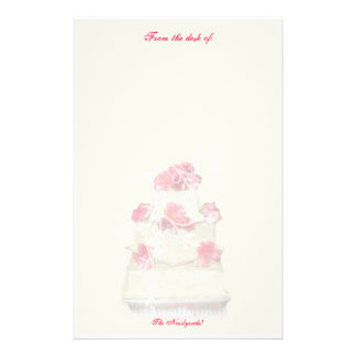 Wedding Cake Custom Paper! Stationery