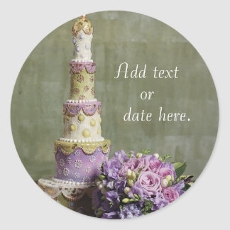 Wedding Cake Decadence Sticker