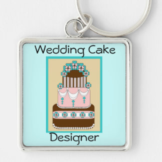Wedding Cake Designer Keychain